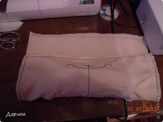 Мастер-класс Шитьё Подушка Модница Ткань фото 24