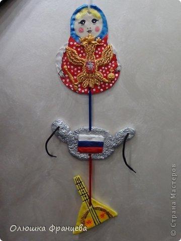 Символы россии в поделках детей
