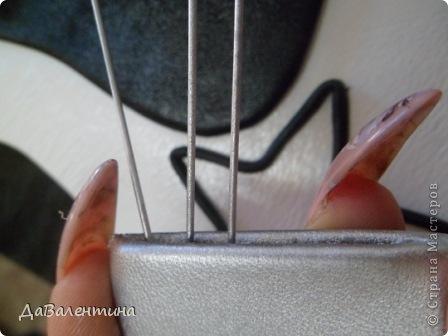 Картина панно рисунок Мастер-класс День рождения Ассамбляж Картины из кожи Гитара 1 и Гитара 2  Кожа фото 31