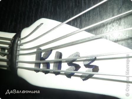 Картина панно рисунок Мастер-класс День рождения Ассамбляж Картины из кожи Гитара 1 и Гитара 2  Кожа фото 33
