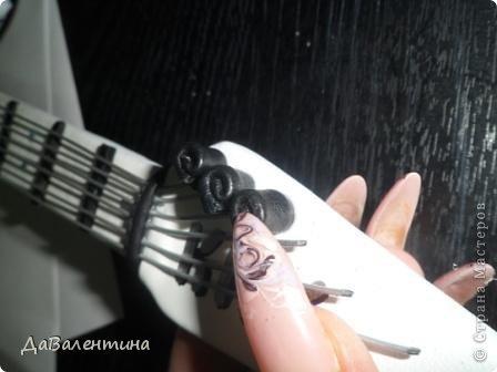 Картина панно рисунок Мастер-класс День рождения Ассамбляж Картины из кожи Гитара 1 и Гитара 2  Кожа фото 34