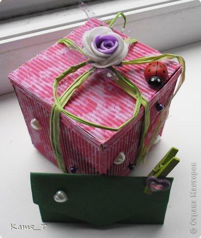 вот сама коробочка из гофрированного картона фото 2