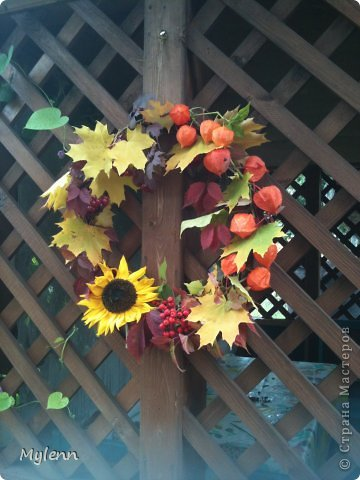 Мастер-класс Осеннее настроение   фото 14