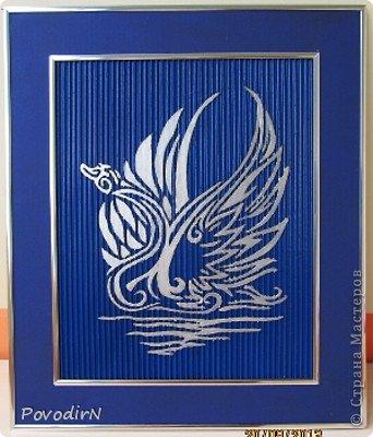 Картина панно рисунок Вырезание Панно 2 Картон гофрированный фото 2