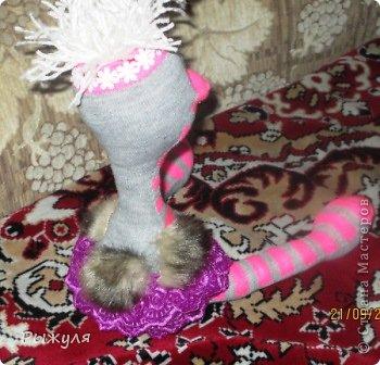 Всем привет!!! Увидела у тёти Лены МК страусёнка и не смогла спокойно спать...  https://stranamasterov.ru/node/629132 фото 5