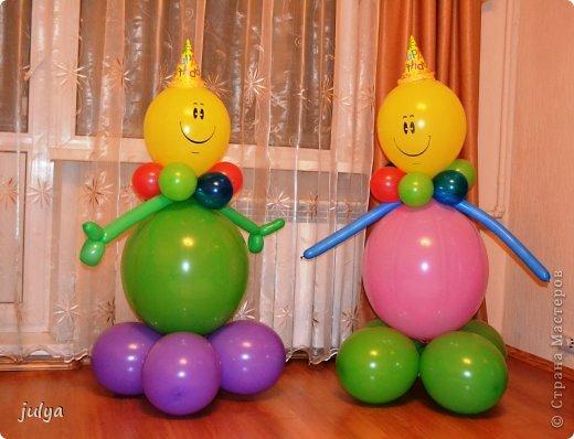 из шаров воздушных своими руками