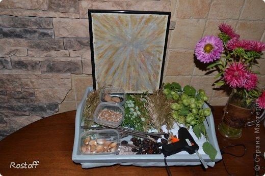 Мастер-класс Поделка изделие Праздник осени Аппликация Поделка из природного материала немного МК Листья фото 5