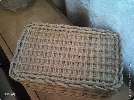 Поделка изделие Плетение Сложное плетеное донышко по МК Тищенко Бумага газетная Трубочки бумажные фото 8