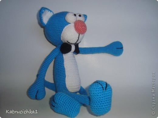Игрушка Вязание крючком Кот