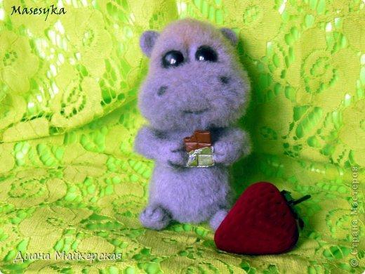 Бегемотик который очень любит сладости))) фото 2