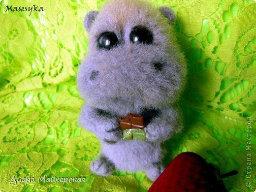 Бегемотик который очень любит сладости))) фото 3