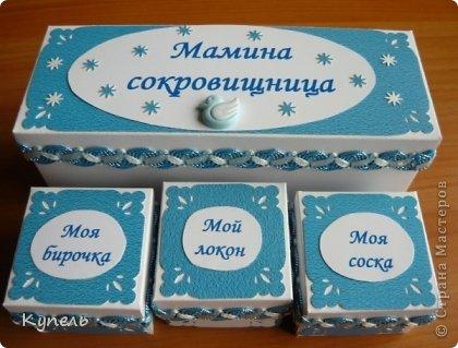 Дорогие мастерицы! Я сегодня к вам снова с коробочками для мам. Все они сделаны для мальчиков. Пока я ещё учусь. Практически все сделаны в одном стиле. На большее не хватает умений. Сделаны по по МК Машеньки Кац https://stranamasterov.ru/node/610317 фото 2
