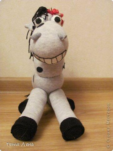Лошадка из носков своими руками