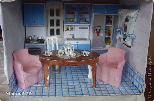 Кухня для куклы барби своими руками 45