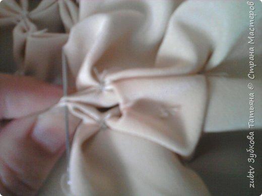 Интерьер Мастер-класс Шитьё Подушка в технике буфы Зефир Ткань фото 20
