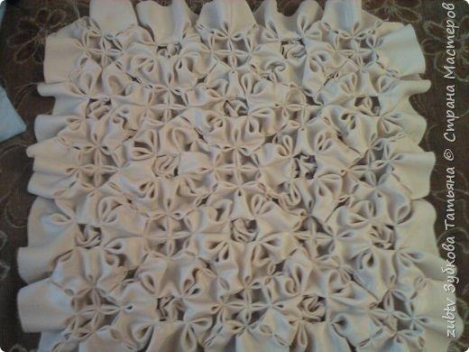 Интерьер Мастер-класс Шитьё Подушка в технике буфы Зефир Ткань фото 30