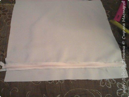 Интерьер Мастер-класс Шитьё Подушка в технике буфы Зефир Ткань фото 33