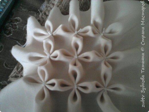 Интерьер Мастер-класс Шитьё Подушка в технике буфы Зефир Ткань фото 5