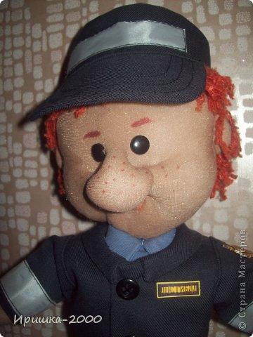 Кукла полицейский своими руками мастер класс 551