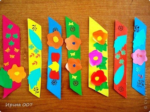 Закладки своими руками для детей 1 класса из бумаги