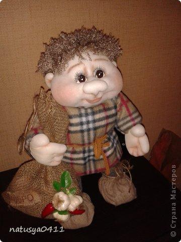 Куклы Мастер-класс Шитьё Домовёнок Капрон фото 7