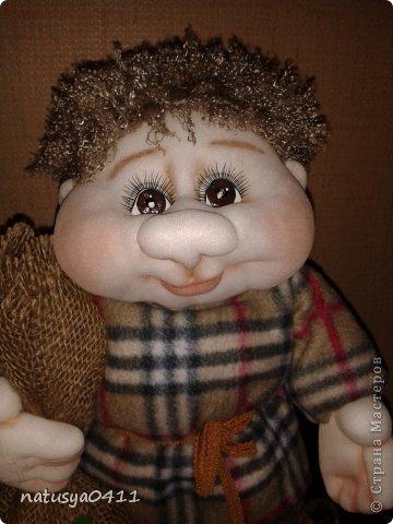 Куклы Мастер-класс Шитьё Домовёнок Капрон фото 8