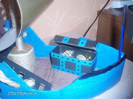 сундук сделан из коробочки из под лекарств!
