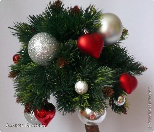 Бонсай топиарий Новый год Рождество Моделирование конструирование Новогоднее - елочка и бонсай Гипс Клей фото 5