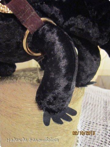 Попросили меня сшить дракона Беззубика для девочки семи лет, дело для меня новое ( игрушки я не шила), пересмотрела в интернете всё, что смогла найти и приступила к делу. фото 11