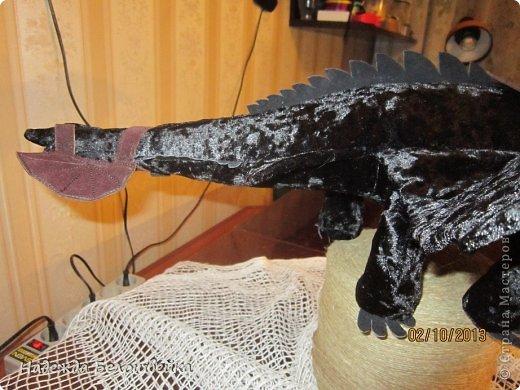Попросили меня сшить дракона Беззубика для девочки семи лет, дело для меня новое ( игрушки я не шила), пересмотрела в интернете всё, что смогла найти и приступила к делу. фото 10
