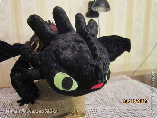 Игрушка Шитьё Дракон Беззубик