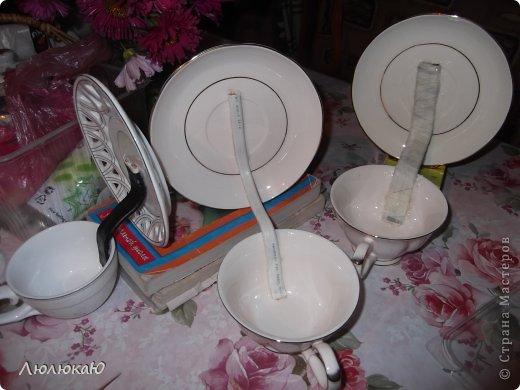 Поделки своими руками чашка с блюдцем фото пошагово