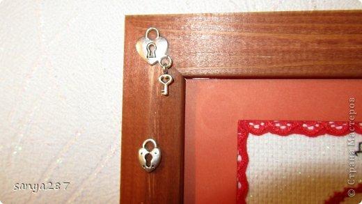 Вышивка крестом Ключница