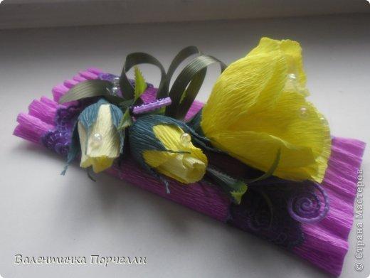 На День Учителя мне моя знакомая заказала оформление коробок  конфет и 4 шоколадок.Коробка конфет в такой цветовой гамме.Мне самой понравилась)))) фото 11