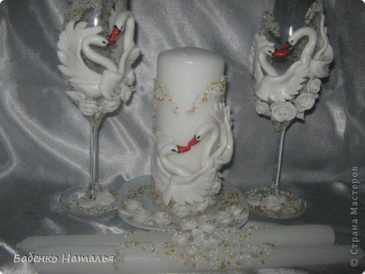 Свадебный бокал своими руками фарфор