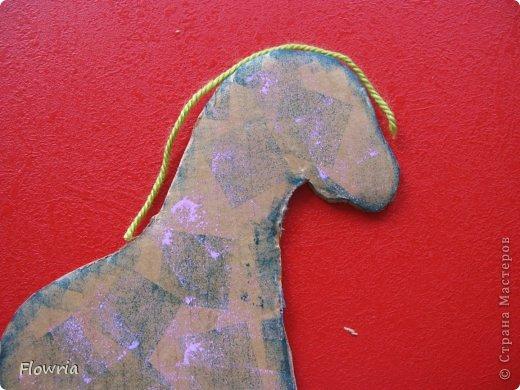 """Приветствую всех! Сегодня я к Вам с очень простеньким МК. Это Лошадка Глафира))) Следующий год - год Синей (или Зеленой) Лошади. Я участвую в конкурсе """"Лошади бывают разные"""" http://stranamasterov.ru/node/612099 фото 8"""