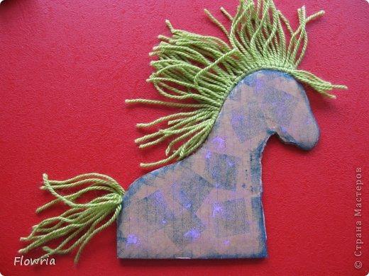 """Приветствую всех! Сегодня я к Вам с очень простеньким МК. Это Лошадка Глафира))) Следующий год - год Синей (или Зеленой) Лошади. Я участвую в конкурсе """"Лошади бывают разные"""" http://stranamasterov.ru/node/612099 фото 16"""