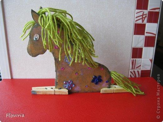 """Приветствую всех! Сегодня я к Вам с очень простеньким МК. Это Лошадка Глафира))) Следующий год - год Синей (или Зеленой) Лошади. Я участвую в конкурсе """"Лошади бывают разные"""" http://stranamasterov.ru/node/612099 фото 22"""