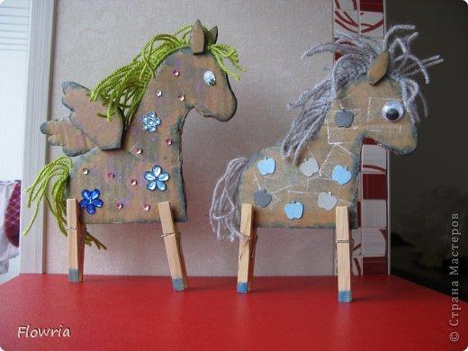 """Приветствую всех! Сегодня я к Вам с очень простеньким МК. Это Лошадка Глафира))) Следующий год - год Синей (или Зеленой) Лошади. Я участвую в конкурсе """"Лошади бывают разные"""" http://stranamasterov.ru/node/612099 фото 26"""
