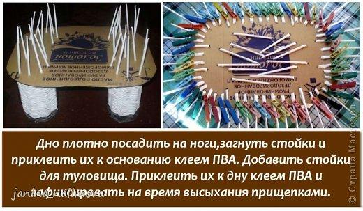 Мастер-класс Поделка изделие Плетение Плетённый короб для игрушек Корова Трубочки бумажные фото 5