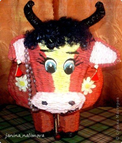 Мастер-класс Поделка изделие Плетение Плетённый короб для игрушек Корова Трубочки бумажные фото 17