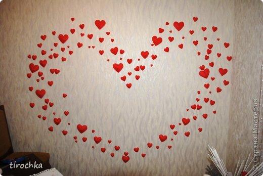 Своими руками сердце на стену 66