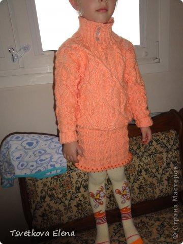 Джемперок и юбочка фото 4