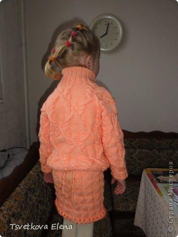 Джемперок и юбочка фото 5