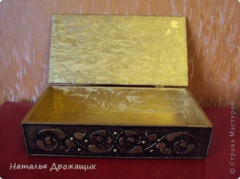Декор предметов Шкатулка с птичкой Картон гофрированный Материал бросовый фото 9