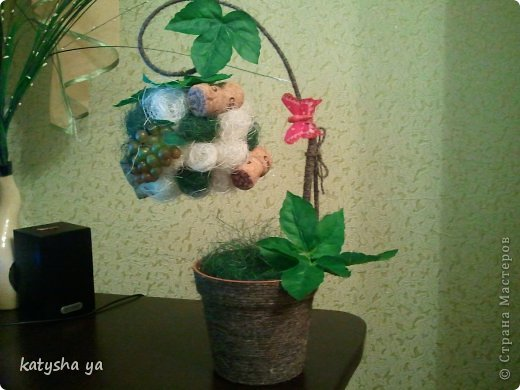"Топиарий ""Виноград"" фото 1"