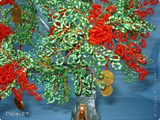 Все здравствуйте !Хочу сегодня показать 2 денежных деревца,которые сплела для дорогих мне людей.У моего мужа и близкой подруги День рождения завтра.Деревья еще не подарила,а хочется похвастать. фото 6