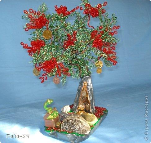 Все здравствуйте !Хочу сегодня показать 2 денежных деревца,которые сплела для дорогих мне людей.У моего мужа и близкой подруги День рождения завтра.Деревья еще не подарила,а хочется похвастать. фото 2