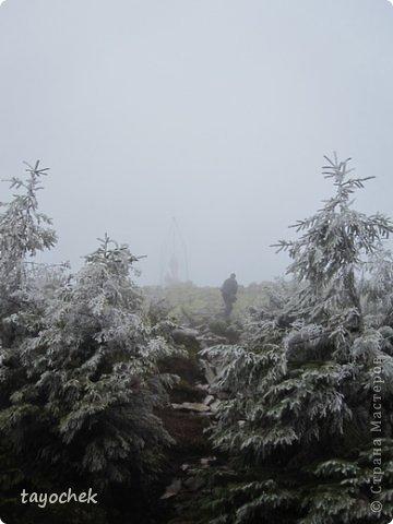 Здравствуйте, гости моей странички! Приглашаю Вас отдохнуть, расслабиться, полюбоваться осенними Карпатами, побывать в некоторых музеях. ТАК как район горный, высота над уровнем моря разная, погода соответственно тоже, мы за неделю смогли увидеть и осенние Карпаты, и зимние! Сначала  просто очарование гор фото 10