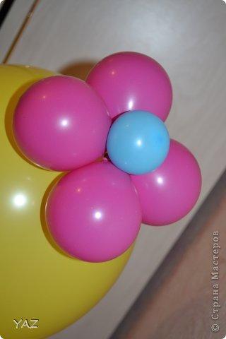 06 октября у меня было День Рождения и мама с папой подарили мне вот такую девочку из воздушных шариков фото 2